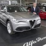 Fotografias del Alfa Romeo Stelvio.